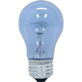 GE 48706 40-Watt Reveal A15 Appliance Bulb, 2-Card