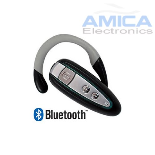 Bluetooth Wireless Headset With Echo-Cancellation And Noise Reduction For All Blackberry Phones