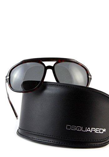 dsquared-designer-sonnenbrille-braun-platin-mit-schwarzen-glasern