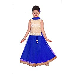 SAARAH Blue Lehenga Choli Set (EMP3214)