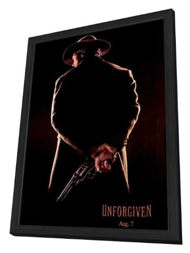 Unforgiven 27 x 40 Movie Poster - Style B - in Deluxe Wood Frame