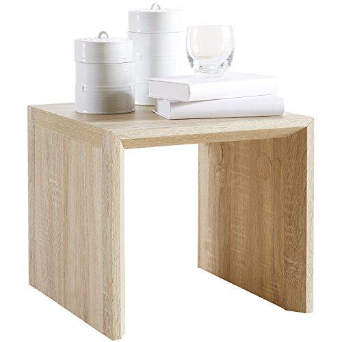 Couchtisch-Beistelltisch-MDF-Sonoma-Eiche-Wohnzimmertisch-Nachttisch-Tisch-Sofatisch