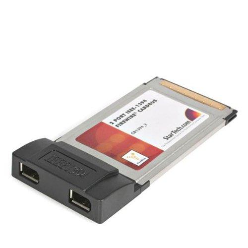 Startech 2 Port Cardbus Laptop 1394A Firewire Pc Card Adapter (Cb1394_2)
