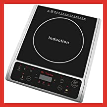 Spt 1300-Watt Induction Cooktop Silver
