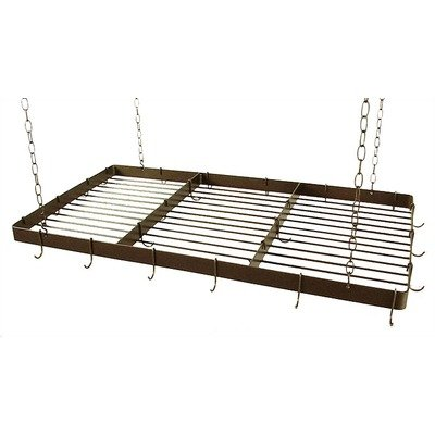 "Grace Butcher Rack With Grid 48"" Pot Rack Rbr-48Grid"