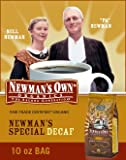 Newman's Own Special Blend Decaf Coffee, Whole Bean, 10oz. Bag (Pack of 2)