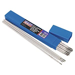 Sealey WESS1032 Welding Electrodes Stainless Steel, Dia 3.2 x 350 mm, 1 Kg