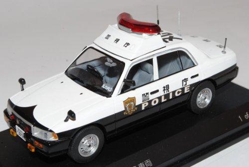 Nissan Crew 2007 Limousine Polizei 1/43 J-Collection Modell Auto