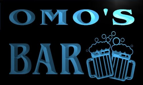 w056624-b-omo-name-home-bar-pub-beer-mugs-cheers-neon-light-sign