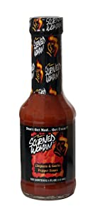 Scorned Woman Chipotle Garlic Pepper Sauce 5-ounce Glass Pack Of 6 from Scorned Woman