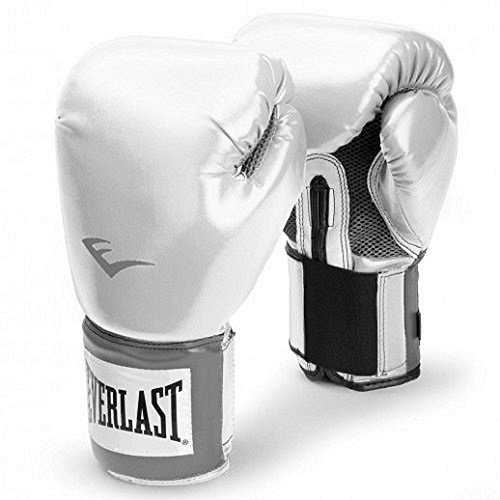 Everlast Erwachsene Boxartikel 20 Velcro Pro Style Training Gloves, White, 10, 057211 01010