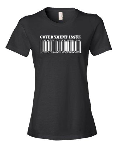 Government Issue Tee Shirt Womens L Black U