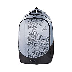 Fastrack Grey Non-Leather Backpack - A0614NGY01
