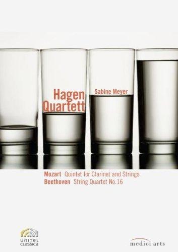 The Hagen Quartett Plays Mozart And Beethoven [DVD] [2000] [2009]
