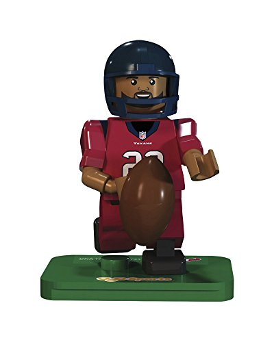 NFL GEN3 Houston Texans Arian Foster Limited Edition Minifigures, Blue, Small (Arian Foster Figure compare prices)