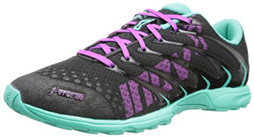 Inov-8 Women's F-Lite 195 (P) Cross-Training Shoe,Black/Teal/Purple,9.5 M US