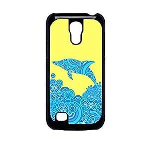 Vibhar printed case back cover for Samsung Galaxy S4 Mini SunnyDolphin