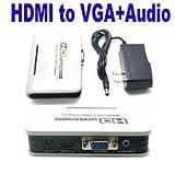 PC DVD HDMI to VGA & Audio for HDTV CRT Vido Converter Box