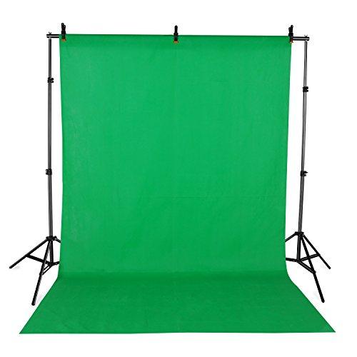 Fond vert studio photo toile tissu de fond vinyle couleur Verte 3.0*1.6m densité 100g/m2 backdrop background en matériel polypropylene