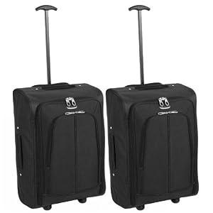 Karabar Set of 2 Super Lightweight Cabin Approved Wheeled Bags - 3 Years Warranty! from Karabar