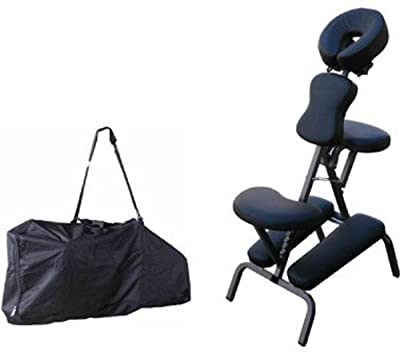"5 Color, Portable Massage Chair Comfort 4"" Thick Foam Light Weight With Free Carrying Bag"