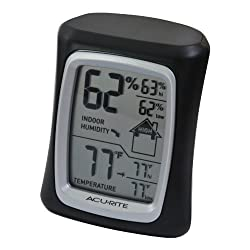 AcuRite 00325 Home Comfort Monitor Black
