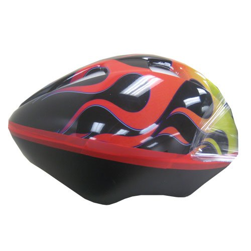 Kent USA V9 Child Hot Rod Flames Helmet (Fits Ages 5-8)