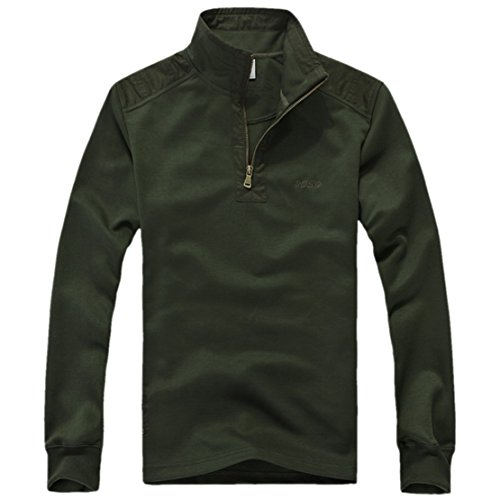 QualityUC Mens 2014 New Design Long Sleeved Thin Green Sweater автоинструменты new design autocom cdp 2014 2 3in1 led ds150