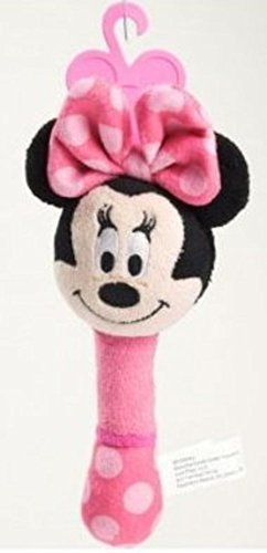 MINNIE MOUSE ~ Plush Shake Me Rattle - 1