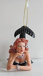 December Diamonds Wave Mermaid Ornament