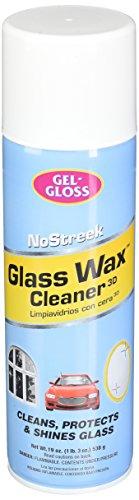 Gel Gloss No Streek Glass Wax Window Cleaner 19 Oz