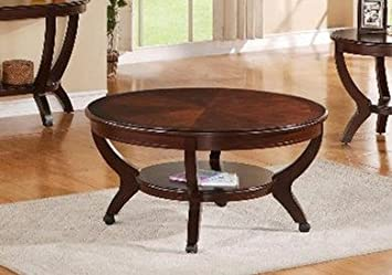 Brand New 40'' dia. x20''H Brownstown Coffee Table