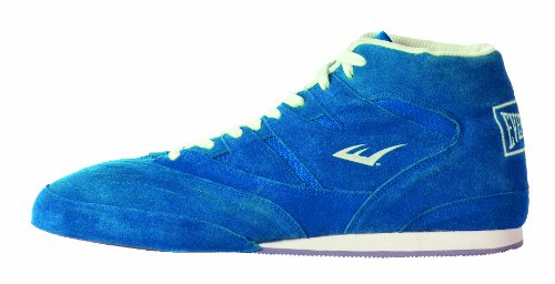 Everlast Lo Top Boxing Shoes - UK 8, Blue