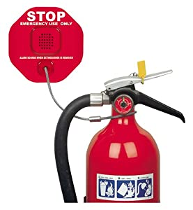 STI 6200 Fire Extinguisher Theft Stopper, Alarm Helps Prevent Misuse