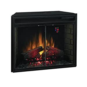 Classic Flame Insert Electric Fireplace Outdoor Fireplaces