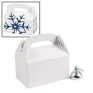 Miniature White Treat Boxes (Pkg 24)