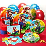 Super Mario Bros. Standard Party Pack (8 pk)