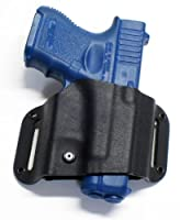 Kydex Slide Belt Holster Glock 17/17l/22/31/19/23/32/26/27/28/33/34/35 Black Right-hand