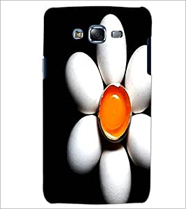 PrintDhaba Egg Flower D-1193 Back Case Cover for SAMSUNG GALAXY ON 7 (Multi-Coloured)