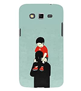 EPICCASE Love you dad Mobile Back Case Cover For Samsung Galaxy Core Prime (Designer Case)