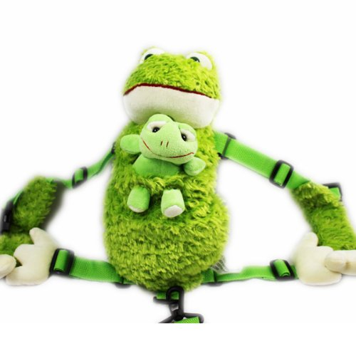 Cuffu Green Frog STUFFED ANIMAL for Children , Perfect Gift Idea for Age 3-10