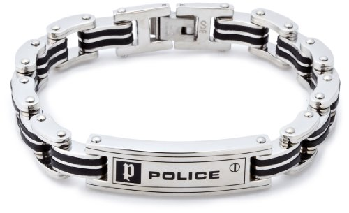 [Police] Police bracelets men's Joker November 8 separate accessories BOOK placement 24919BSB01