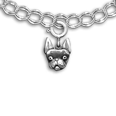 Sterling Silver Boston Terrier J 'n L Boston Terriers