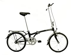 Dahon Boardwalk Folding Bike, Obsidian from Dahon