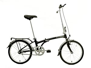 Dahon Boardwalk Folding Bike, Obsidian by Dahon