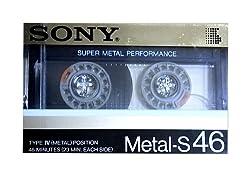 ソニー メタルテープ 46分 スーパーメタルサウンド Metal-S46
