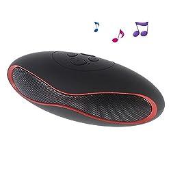 Finger's Landmark Mini Rugby Bluetooth Wireless Speaker Black