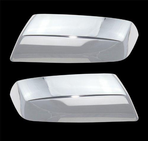 MaxMate 2014-2015 Chevy Silverado/GMC Sierra Chrome Top Half Mirror Covers