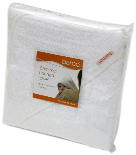 Baroo Bamboo Hooded Towel (Pack Of 2) front-798349