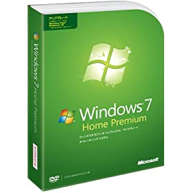 Windows 7 Home Premium �A�b�v�O���[�h